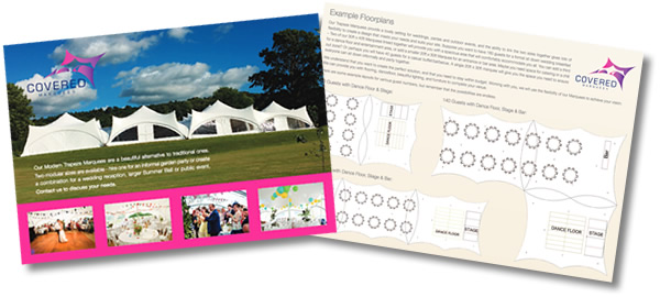 Marquee Hire  Brochure